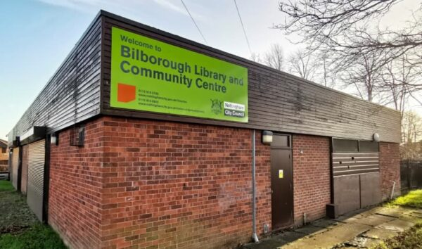Bilborough Library 1 – Card