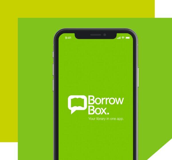 Borrow box image in Design –GREEN