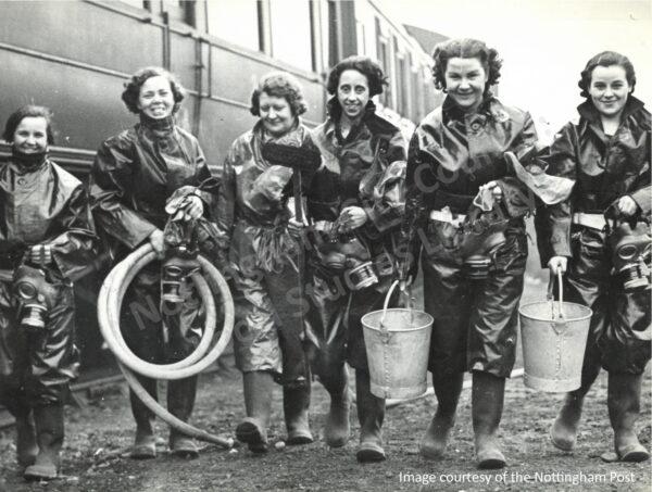 Female Decontamination squad