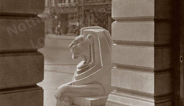 Agememnon the Lion, Council House, Nottingham 1929