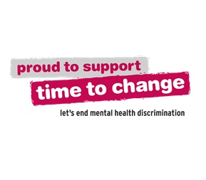Proud to support time to change