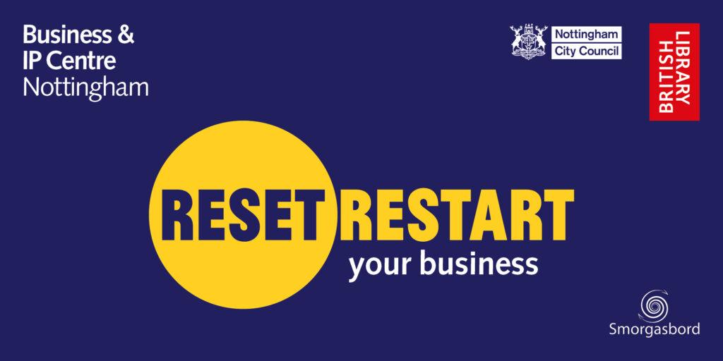 Reset. Restart. Eventbrite Nottingham