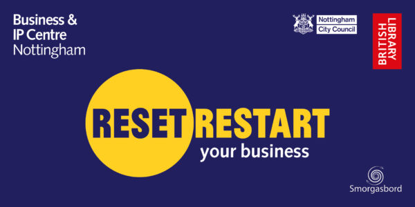 Reset. Restart. Eventbrite Nottingham