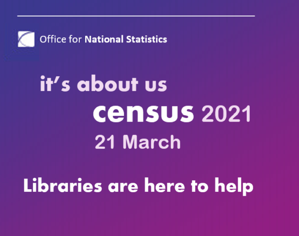 ONS Census 2021 21 March Libraries are here to help