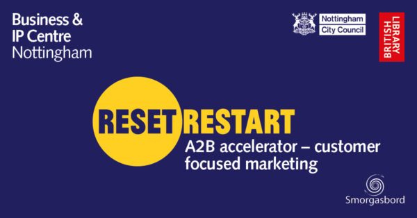 Reset. Restart. A2B accelerator - customer focused marketing
