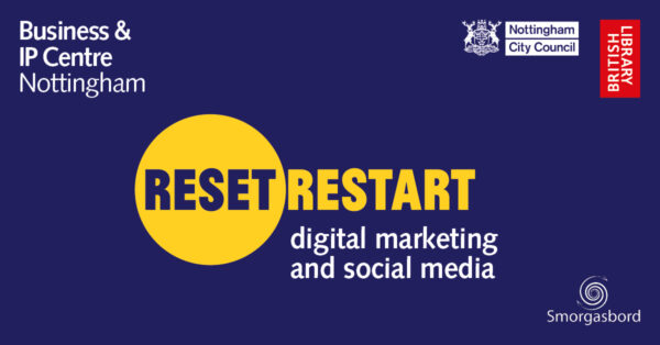 Reset. Restart. Digital marketing and social media