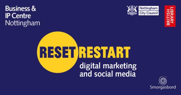 Reset. Restart. Digital marketing and social media