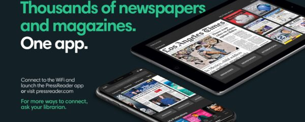 Thousands of newspapers and magazines. In one app
