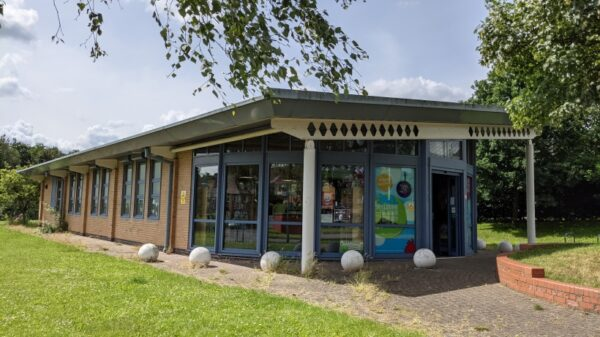 Southglade Library Front