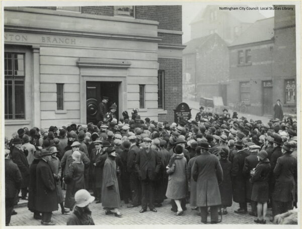 1929 Crowds at Sneinton Library opening