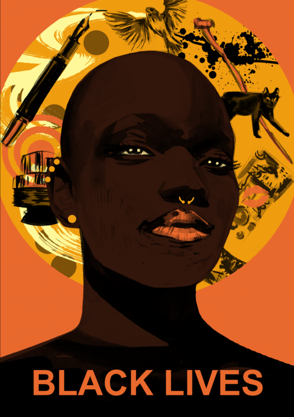 Front cover of Black lIVES