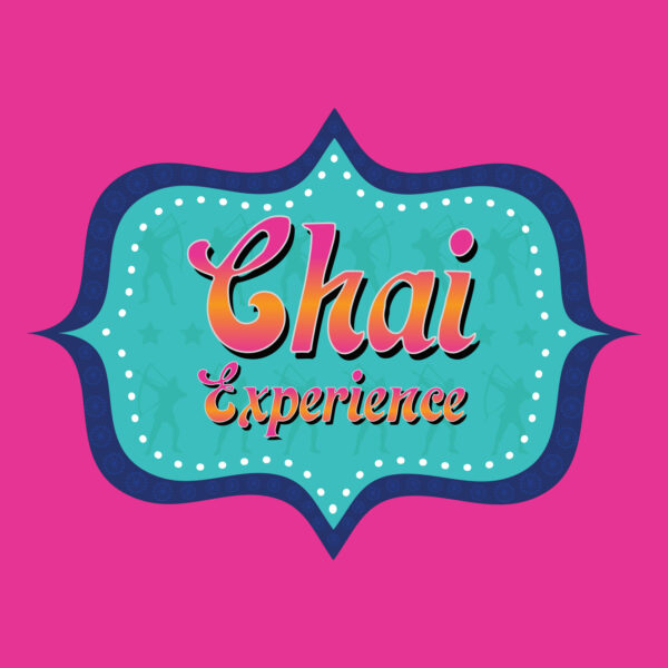Chai Experience pink and blue logo